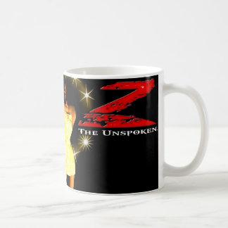 Z: The Unspoken Classic White Coffee Mug
