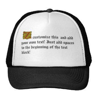 Z TRUCKER HAT