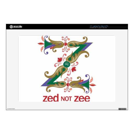 Z - zee de la zeta no skins para 38,1cm portátiles