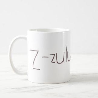 Z - zulu NATO Classic White Coffee Mug