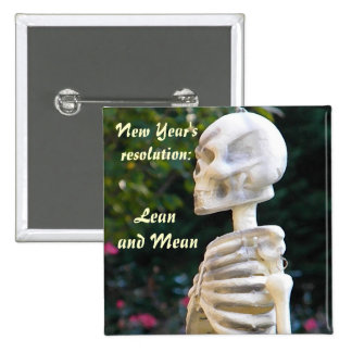ZA- New Year's resolution satire button