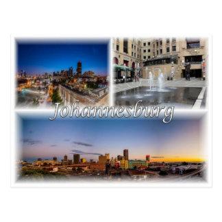 ZA South Africa - Johannesburg Joburg - Postcard