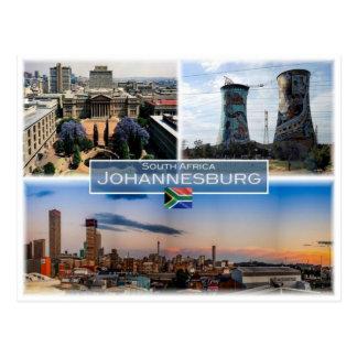 ZA South Africa -Johannesburg Joburg  - Postcard