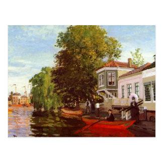 Zaan at Zaandam Postcard
