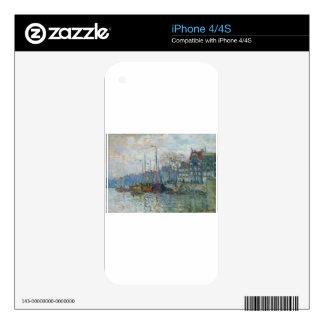 Zaandam, el dique de Claude Monet iPhone 4S Skin
