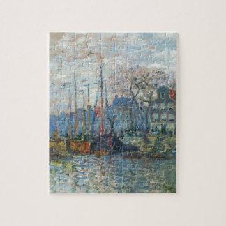 Zaandam, el dique de Claude Monet Rompecabeza