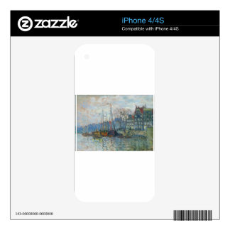 Zaandam, The Dike by Claude Monet iPhone 4S Skin