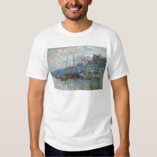 Zaandam, The Dike by Claude Monet T-Shirt