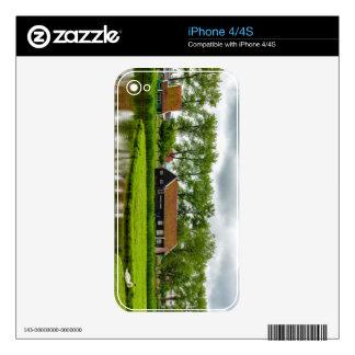 zaanse schans, netherlands decals for iPhone 4