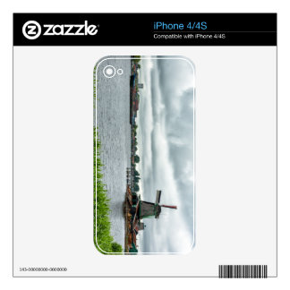 zaanse schans, Netherlands Skin For The iPhone 4S