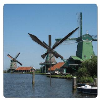 Zaanse Schans Windmills Clock