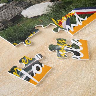 Zaanse Schans Windmills in Holland Jigsaw Puzzles