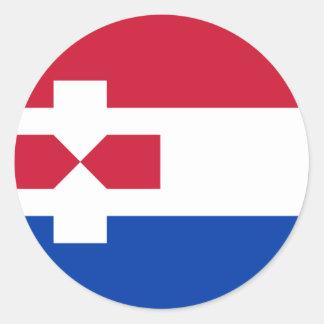 Zaanstad Netherlands, Netherlands Classic Round Sticker
