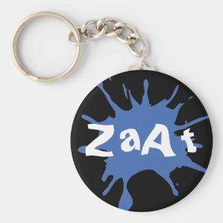 ZaAt Basic Round Button Keychain