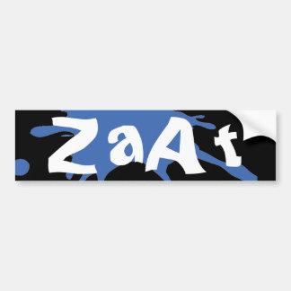 ZaAt Bumper Sticker