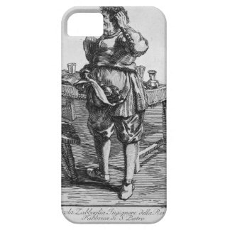 Zabaglia caricature of Nicholas, the Reverend iPhone SE/5/5s Case