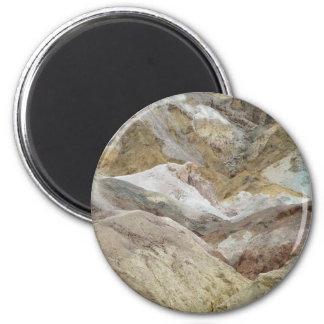 Zabriskie Point 2 Inch Round Magnet