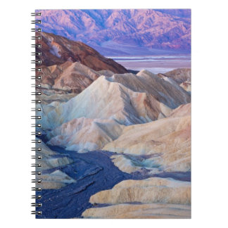 Zabriskie Point Before Dawn Spiral Notebook