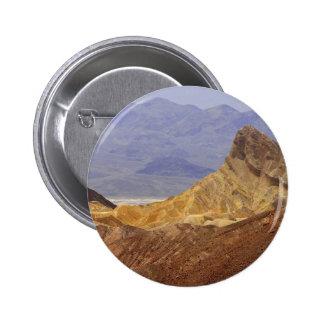 Zabriskie Point Death Valley Deserts Pinback Button