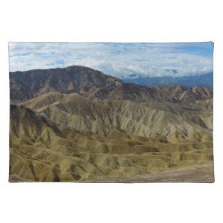 Zabriskie Point in Death Valley California Cloth Placemat