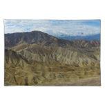 Zabriskie Point in Death Valley California Cloth Place Mat