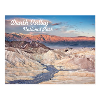 Zabriskie Point in Death Valley Postcard