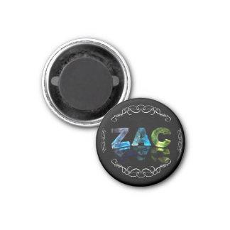 Zac - el Zac conocido en 3D se enciende (la fotogr Imanes