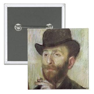 Zacarias Zakarian, c.1885 Pin Cuadrada 5 Cm