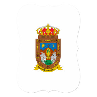 ZACATECAS INVITACIÓN 12,7 X 17,8 CM