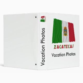 """Zacatecas que agita la bandera oficiosa carpeta 1"""""""