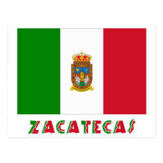 Zacatecas Unofficial Flag Postcard