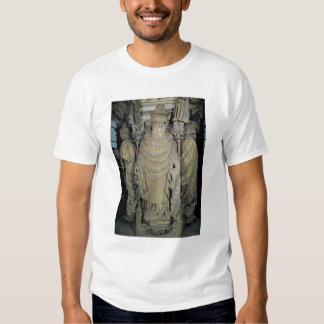 Zacharias, detail from the hexagonal pedesta t-shirt