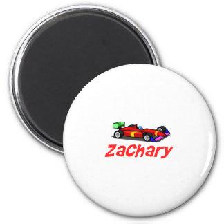 Zachary 2 Inch Round Magnet