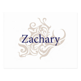 Zachary Post Card