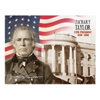 Zachary Taylor - 12th President of the U.S. Postcard