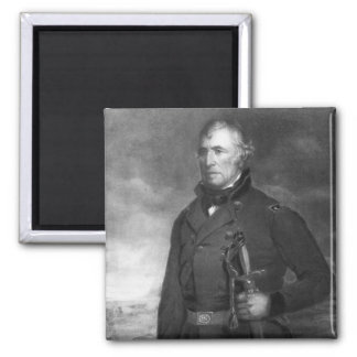 Zachary Taylor, 12th President of the United State 2 Inch Square Magnet