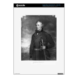 Zachary Taylor, 12th President of the United State iPad 3 Skins
