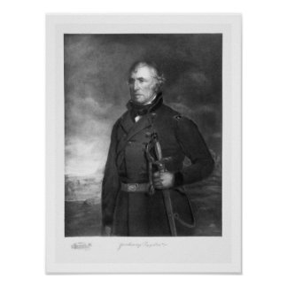 Zachary Taylor, 12th President of the United State Print