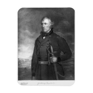Zachary Taylor, 12th President of the United State Rectangular Photo Magnet