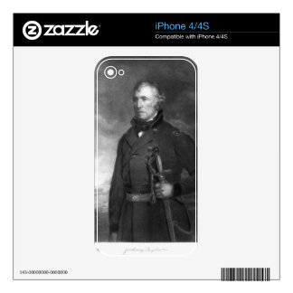 Zachary Taylor, 12th President of the United State Skins For iPhone 4