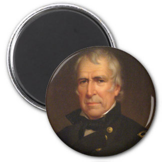 Zachary Taylor 2 Inch Round Magnet