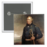 Zachary Taylor 2 Inch Square Button