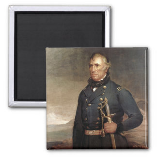 Zachary Taylor 2 Inch Square Magnet
