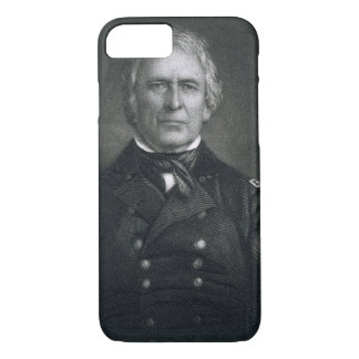 Zachary Taylor, engraved after a daguerrotype by T iPhone 8/7 Case