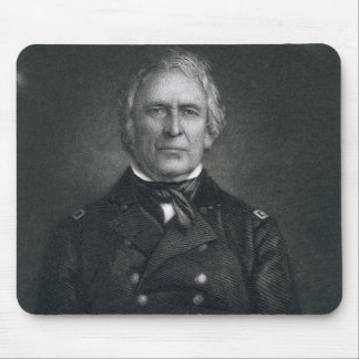 Zachary Taylor, engraved after a daguerrotype by T Mouse Pad