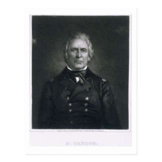 Zachary Taylor, engraved after a daguerrotype by T Postcard
