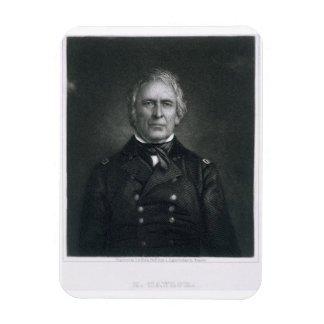 Zachary Taylor, engraved after a daguerrotype by T Rectangular Photo Magnet