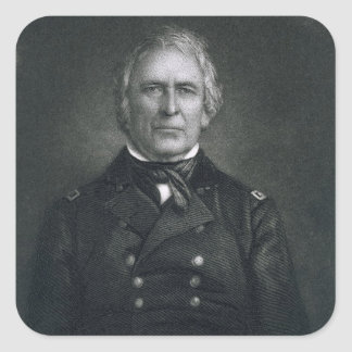 Zachary Taylor, engraved after a daguerrotype by T Square Sticker