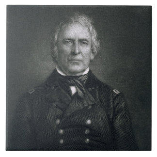 Zachary Taylor, engraved after a daguerrotype by T Tile