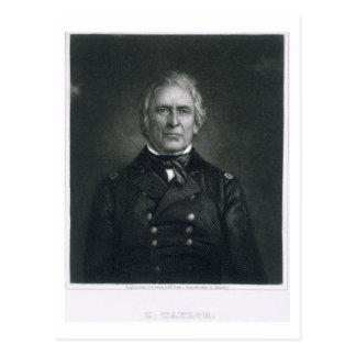 Zachary Taylor, grabado después de un daguerrotipo Tarjeta Postal
